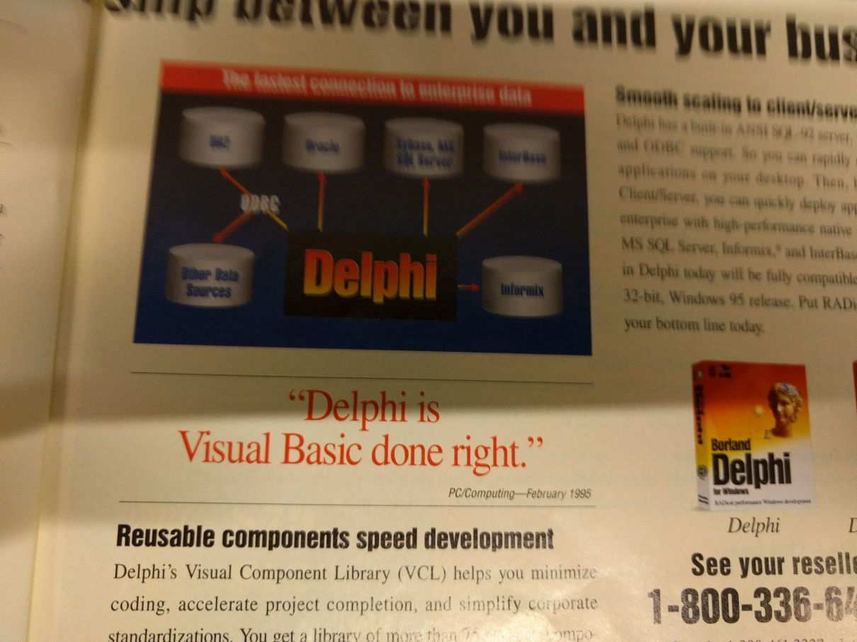 22 Years of Delphi and it Still Rocks
