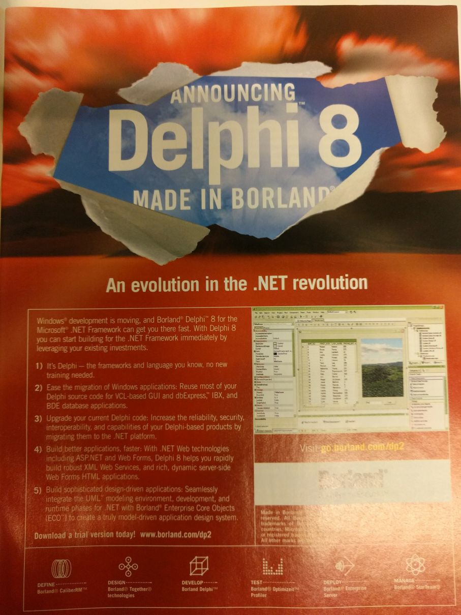 Borland Delphi 2.0