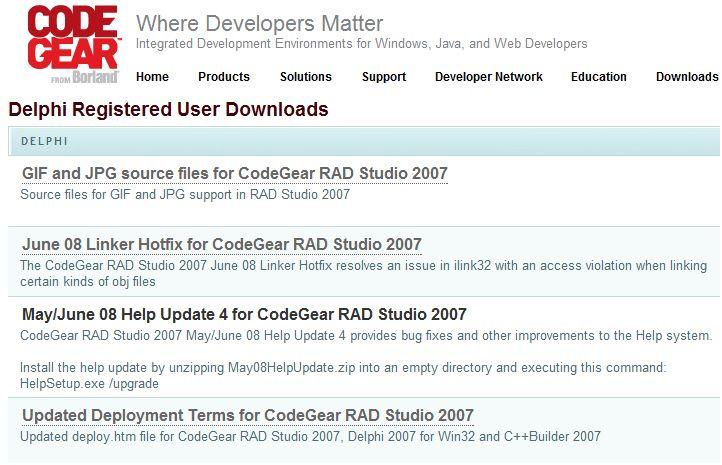DataBoard - Delphi 5 Update Pack 1,2