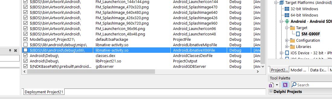Running Delphi Applications on Android Intel