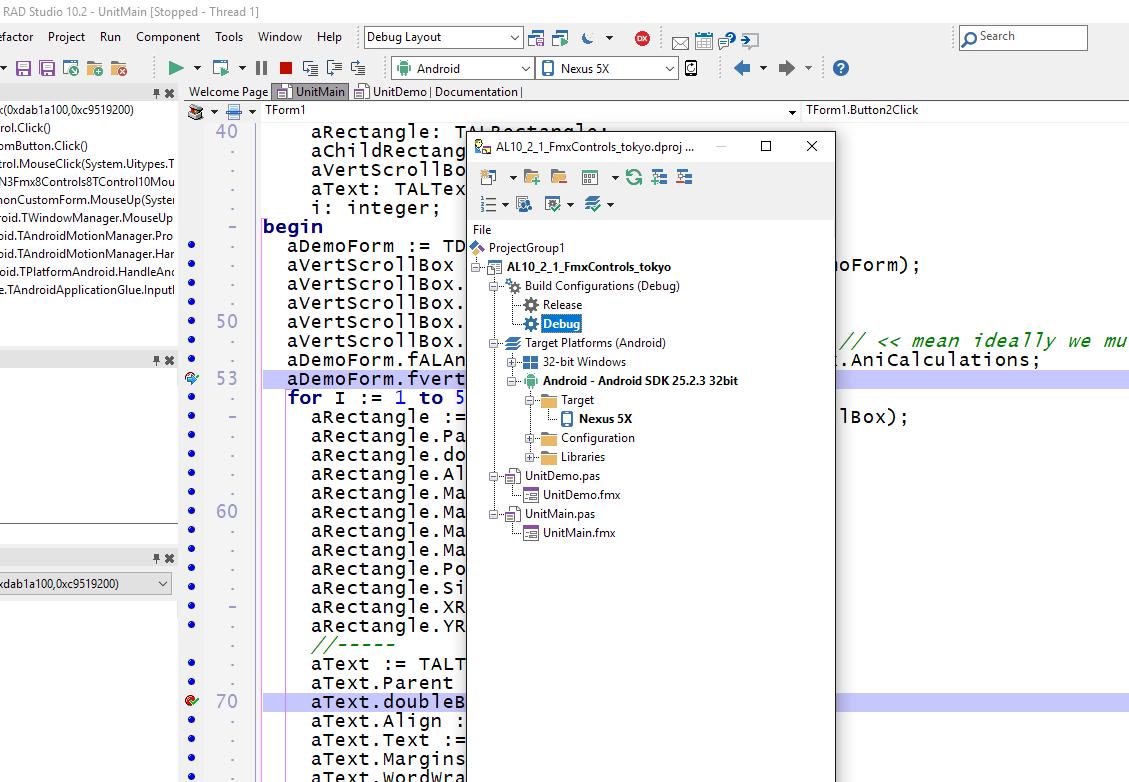 Debugging Delphi Apps on Android 8 1 Works - Blog