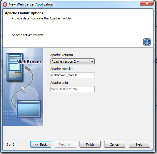 Apache Support in Delphi XE6