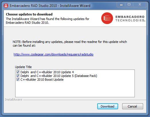 Delphi 5 Update Pack 1
