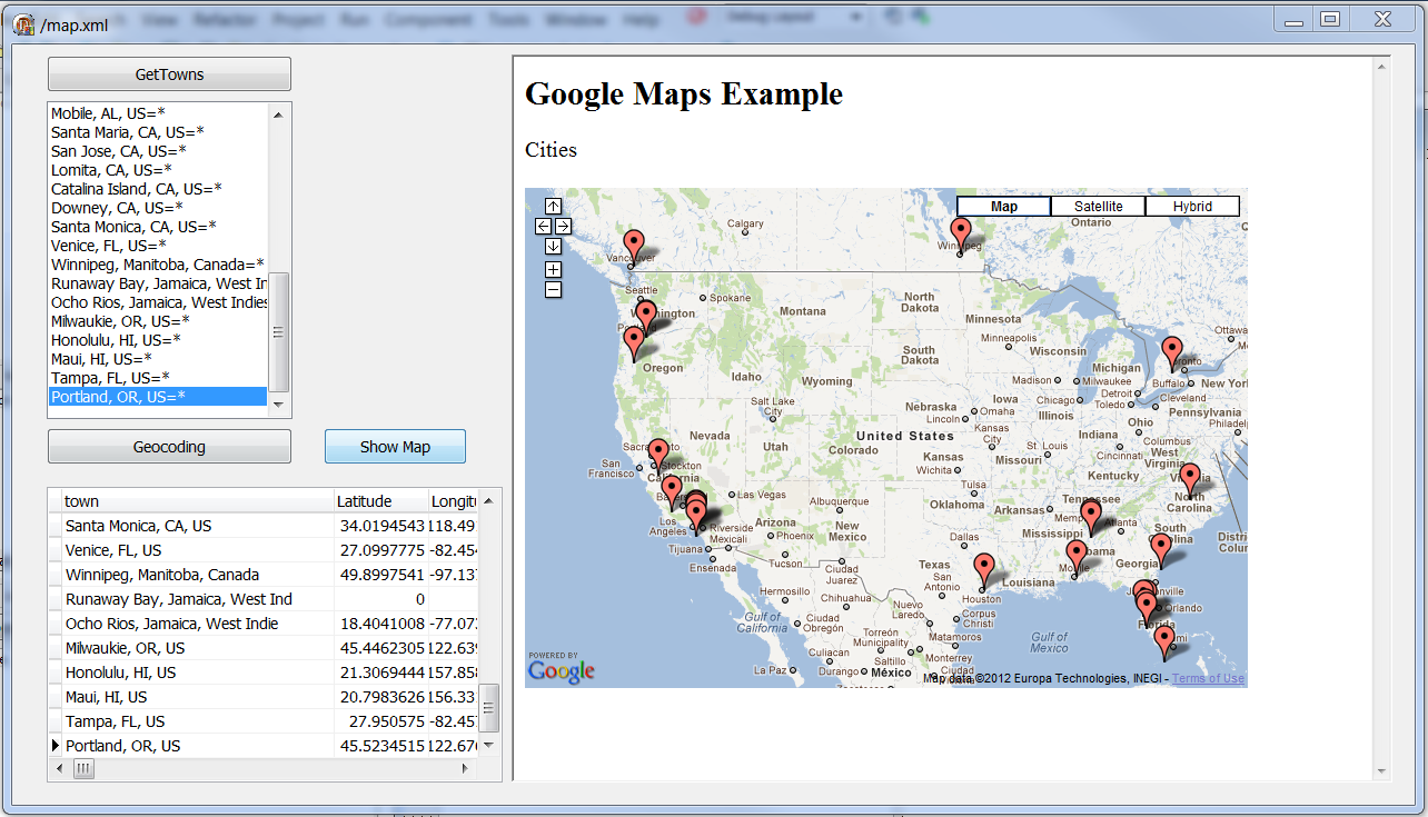 Delphi Mapping REST Clients