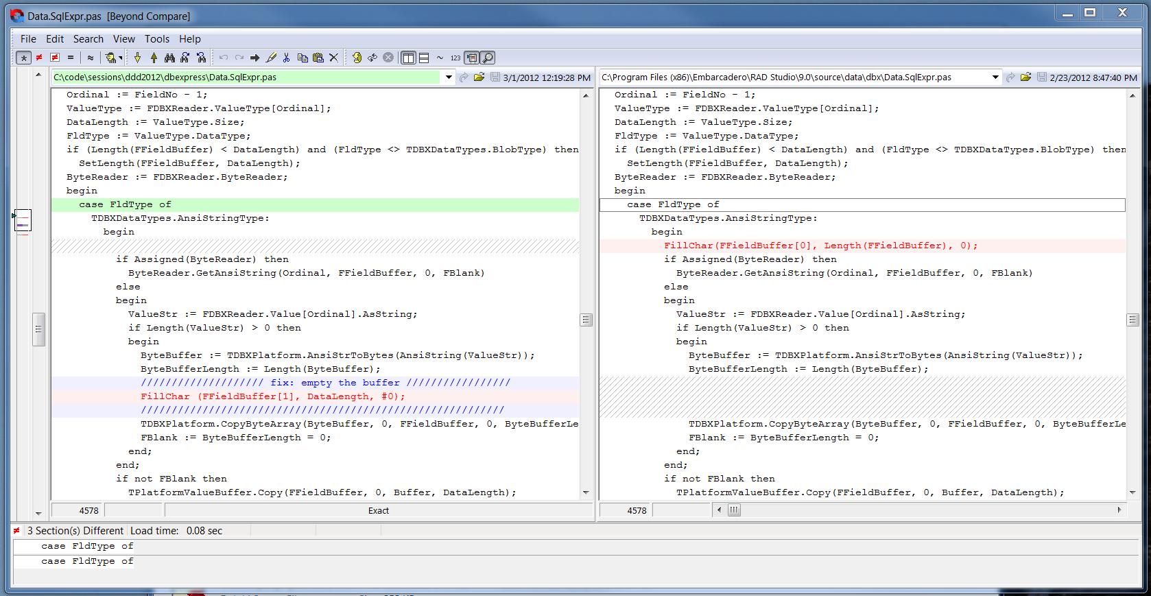 Remote DataSet (via REST) in a ClientDataSet