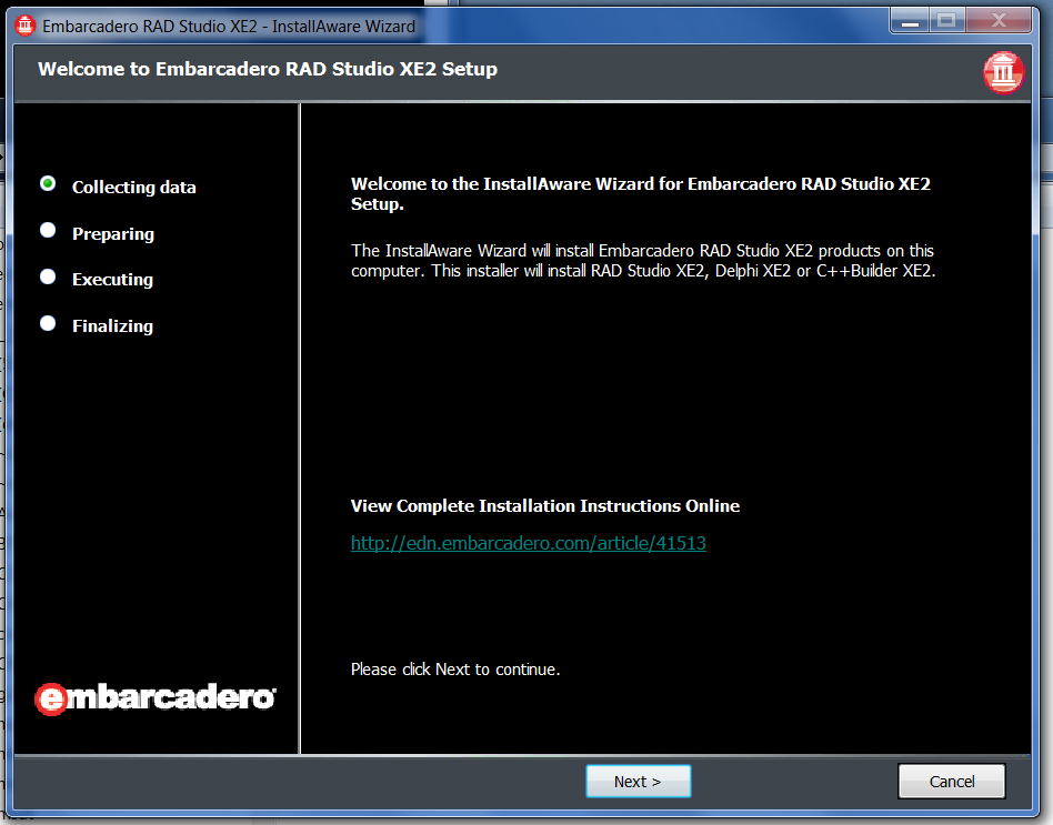 Embarcadero has released Update 3 for Delphi XE2, continuing with an