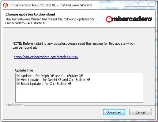 ��� ����� ������� update pack 1 � 2 ��� Delphi 5 / Delphi / Sql.ru